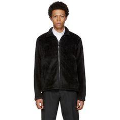 Our Legacy - Black Fleece Zip-Up Sweater