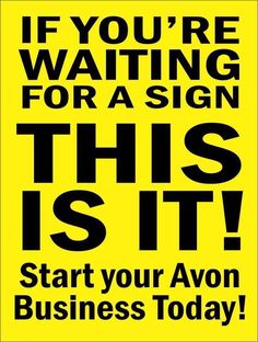 Make Beauty Your Business Selling Avon How To Make Money, How To Become, Corrugated Plastic, Make Beauty, Avon Representative, Personal Shopping, Signs, Business, Direct Selling