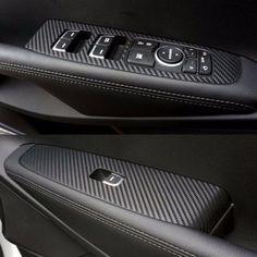 Window Panel Switch Carbon Molding Trim Decals Sticker For 2016 KIA SORENTO #bricx