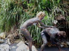 Sulphur Springs St Lucia Mud Bath!
