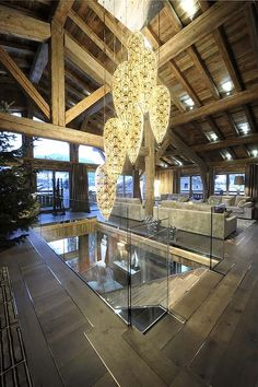 Rustic modern Chalet Brickell in the Rhone Alpes