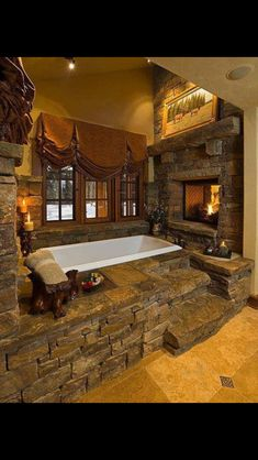 dream bathroom - where is the huns with his credit card?