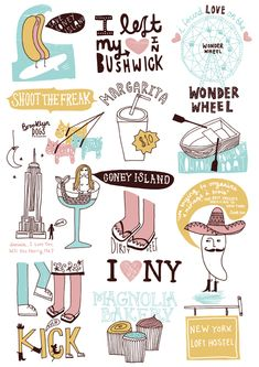 """Brooklyn"" illustration by Kate Sutton."