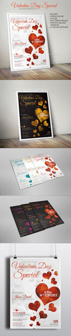 Valentines Day Special Party Inviation Flyer Poster Template PSD. Download here: http://graphicriver.net/item/valentines-day-special-party-inviation-flyer-poster-template/14732005?ref=ksioks