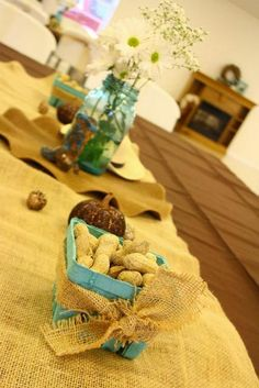 """Photo 2 of 69: Western/Cowboy / Baby Shower/Sip & See """"Western Cowboy Baby Shower in Brown, Beige, and Aqua"""" 