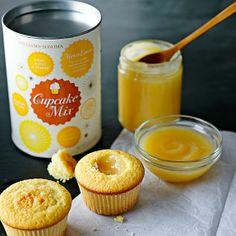 lemon-curd cupcakes