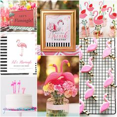 Let's Flamingle - Flamingo Party Ideas