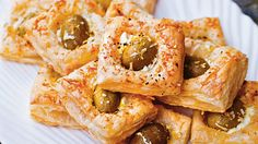 Olive Puffs with Feta