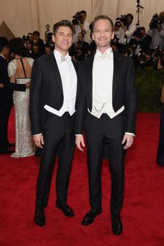 Pin for Later: Seht alle Stars bei der Met Gala David Burtka und Neil Patrick Harris