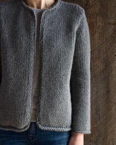 Pared down to the simplest essentials our Classic Knit Jacket is bound to be a wardrobe staple for a very long time! Free pattern in our profile link. by purlsoho