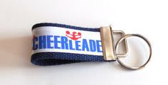 #Mini #Cheerleader #Sports #Key #Fob Key Ring by GabbysQuiltsNSupply, $2.50