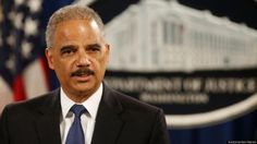 Eric Holder Sees 'Racial Animus' In Administration Opponents