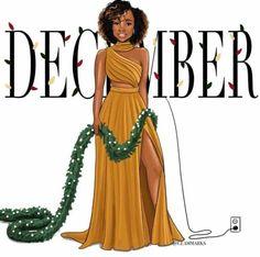 Black Girl Cartoon, Black Girl Art, Black Women Art, Black Women Fashion, Black Girl Magic, Fashion Art, Fashion Outfits, Stylish Outfits, Fall Fashion