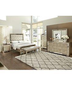 Ailey Queen 3 Pc. Bedroom Set (Bed, Nightstand U0026 Dresser)