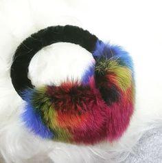 multi color earmuffs by Gena