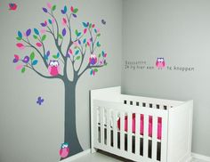Baby ontwerp Sterren kamer : ... baby girl rooms, muurschildering babykamer, babykamer meisje, baby