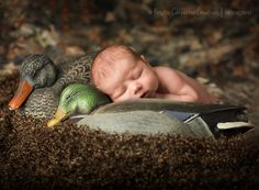 newborn hunting pics baby | Baby {A} Is 2 Weeks Old | Southeast Kansas Newborn Photographer