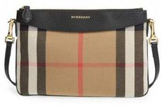 a63aed4104c Burberry  Peyton - House Check  Crossbody Bag - Black dream bag love the  pattern. Titanium High Fashion For Women