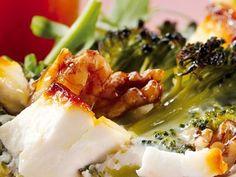 Tarta de Brócoli, Queso Feta y Nueces