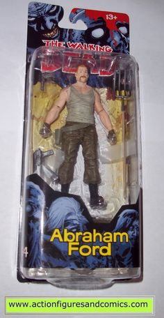 The Walking Dead ABRAHAM FORD mcfarlane toys action figures series 4
