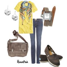 """""""Easy Going Day"""" by hosefish on Polyvore"""