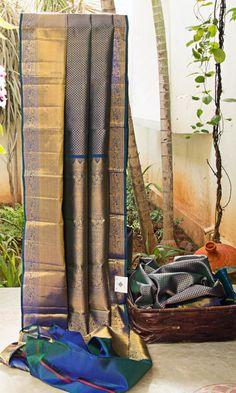 Kanchivaram Silk L03619 | Lakshmi