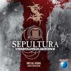 """L'album dei #Sepultura intitolato """"Metal Veins - Alive at Rock in Rio"""" su doppio vinile."""