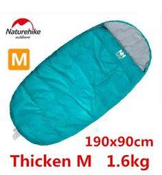 Naturehike Top Quality European Envelope-Style Waterproof Sleeping Bag 2 Sizes 5 Colors