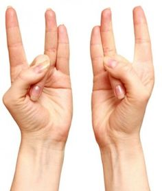 Stretch Your Ring Finger With Your Thumb, and Maintain For a Few Seconds | World Truth.TV