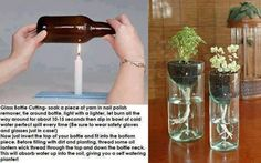 Wine bottle craft ideas