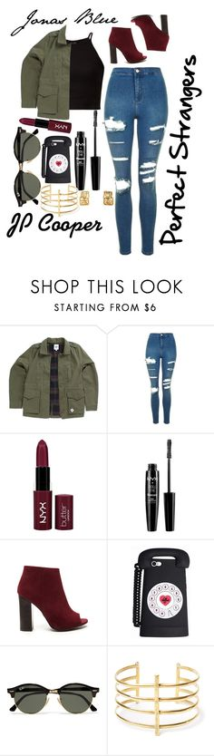 """""""Contest Entry: Jonas Blue- Perfect Strangers ft. JP Cooper"""" by rofl-forever on Polyvore featuring Vans, Topshop, NYX, Ray-Ban and BauXo"""