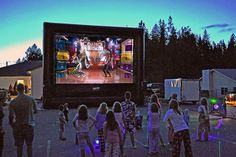 Outdoor Movies in Los Angeles, and surrounding areas! Rent Inflatable Movie…