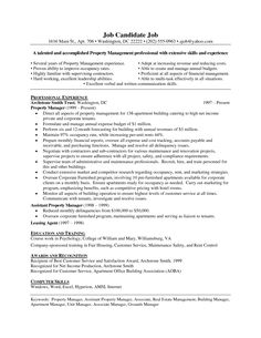 Assistant Property Manager Resume Template Cool Outstanding Professional Apartment Manager Resume You Wish To