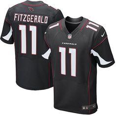 Arizona Cardinals Elite Larry Fitzgerald Jersey Sale - Men's Nike NFL #11 Black Alternate