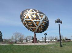 Giant Egg Scuplture