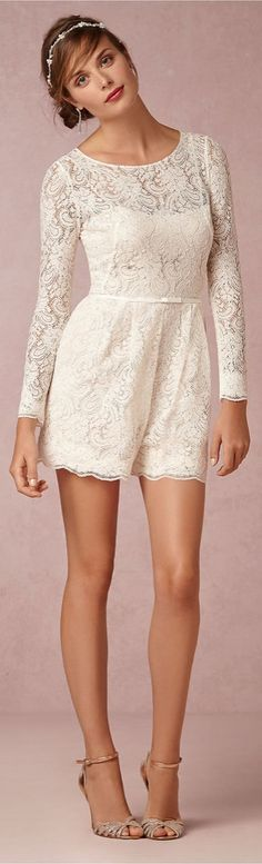 BHLDN's Prato Romper is perfect for your wedding day.