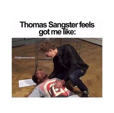 Hahahah OH my gosh YES.< and my non thomas sangtser fan friend is Thomas trying to snap me out of it XD Maze Runner Thomas, Maze Runner Cast, Maze Runner Series, James Dashner, The Scorch Trials, Fandoms, Thomas Brodie Sangster, Dylan O, To My Future Husband
