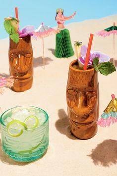 "Tiki is no joke. It began in the early 1930s at Don's Beachcomber Cafe, where, Martin Cate writes in his new book, ""Smuggler's Cove: Exotic Cocktails, Rum, and the Cult of Tiki,"" the ""entertainment was the space itself,"" decked out in palm trees and other island-evoking ephemera. The Trader Vic's franchise soon followed. (Photo: Davide Luciano for The New York Times)"
