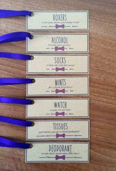 groom survival kit tags these gift tags are the perfect