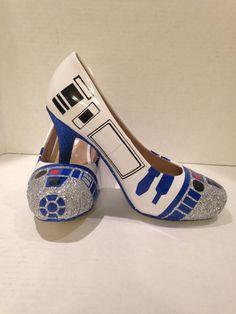 Nuevos zapatos de tacón de SW R2 Encargo a la por OrionsOriginals