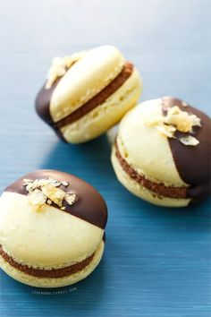 Chocolate Covered Potato Chip Macarons from @Lindsay Landis   Love and Olive Oil