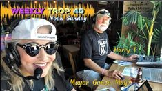 The Weekly Countdown of the 'Top Tropical Americana songs by independent singer-songwriters. Key West, Florida Keys, Honorary 'Mayor Gonzo Mays' and Harry Teaford are LIVE from Paradise, Noon - EST, September Florida Keys, West Florida, Home Tv, Entertainment System, Smart Tv, Key West, Digital Media, Rock Music, Service Design
