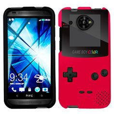 Amazon.com: HTC Desire 601 Retro Red GameBoy Phone Case Cover: Cell Phones & Accessories