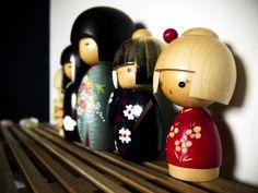 Les Poupées Kokeshi du Tohoku