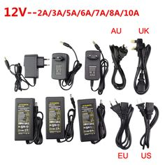 LED adapter DC 5V 12V 24V 2A 3A 5A 7A 8A 10A LED Power Supply For 5V 12V 24V led strip light