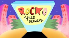 ROCKO (Rocko's modern life)- speed drawing