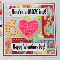 Cute non-candy school Valentine idea