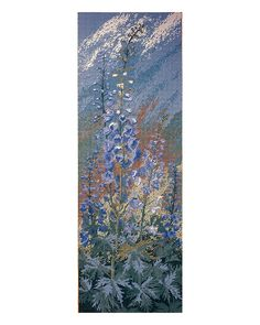 Delphiniums Panel - Ehrman Tapestry    [Have]