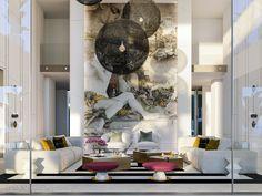New luxury villa in Alcuzcuz, Marbella in Marbella, Spain. Luxury Real Estate for sale. Knight Frank, Modern Villa Design, Treatment Rooms, Luxury Villa, Luxury Loft, Luxury Real Estate, Home Interior Design, Luxury Homes, Furniture Design