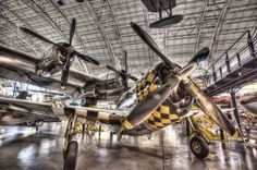 Republic P-47D at the National Air and Space Museum - Dulles, Virginia.